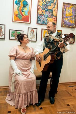 Мистер и миссис Гардинер (в исполнении Андрогора и Таты)