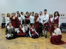 Наша танцевальная группа.